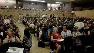 """O """"Seminário de Boas Práticas na Educação"""", da CIMRL, contou com mais de 600 educadores."""